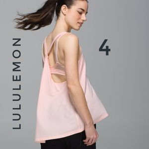 Lululemon The Oneness Tank Heathered Parfait Pink